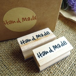 Darmowa wysyłka naturalne mydło wyrabiane ręcznie stempel z drewna formy rozdział Mini DIY drewniana ręka wykonane wzór znaczki