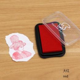 16 kolorów duży rozmiar odcisk atramentowy znaczek planowanie scrapbooking pieczęć silikonowa inkpad diy pamiętnik kartka z życz