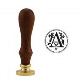 Retro 26 litera a-z pieczęć woskowa litera alfabetu Retro stempel Z drewna zestawy wymienić miedziana głowica narzędzia do upraw