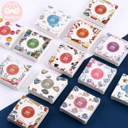 Mr.paper 40 sztuk/pudło cukierki bajki Deco dziennik naklejki Scrapbooking Planner japoński Kawaii dekoracyjne naklejki papierni