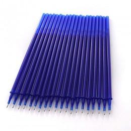 20 sztuk/zestaw zmazywalny żel wkład do pióra pręt zmazywalny długopis napełniania 0.38mm niebieski czarny atrament biuro szkoła