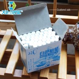 XinDi bezzapachowa biała kreda rysunkowa na edukacja szkolna kredki wysokiej jakości stacjonarne artykuły biurowe Marker biały T