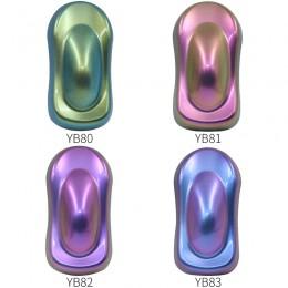 Pigmenty kameleona akrylowy malowany proszkowo farba do malowania samochodów motoryzacja malarstwo dekoracja rzemiosło artystycz