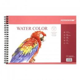 POTENTATE A4 16 arkuszy 300g artystyczny obraz akwarela papier szkicownik do malowania olejowego rysunek pamiętnik kreatywny not