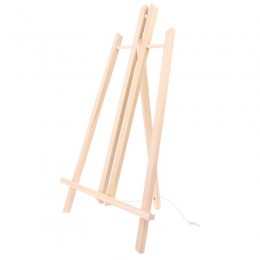 Gorąca sprzedaż 50cm drewno sztalugi reklama wystawa półka ekspozycyjna uchwyt Studio malowanie stojak