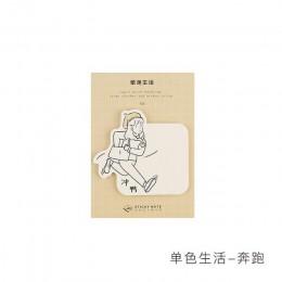 30 arkusz/podkładka przyjemne wakacje przyklejony zeszyt papier kawaii notatnik naklejki do planowania Post śliczne materiały bi