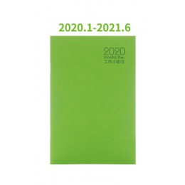 Notatnik terminarz Agenda 2020 codzienny tygodniowy miesięczny Bullet Journal A5 spotkanie książka dziewczyna szkolne artykuły p