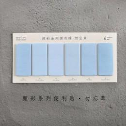"""6 zestaw kolorów śliczne nowość kartki samoprzylepne notatnik naklejka indeksu zakładek """" hotele """"oraz """" wynajem samochodów"""" na"""