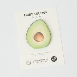 4 Style owoce tropikalne notatnik notatnik samoprzylepne karteczki samoprzylepne biuro szkolne notatnik