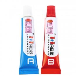 10g uniwersalny mocny klej A B AB klej A + B klej epoksydowy do plastikowej metalowej gumy ceramicznej