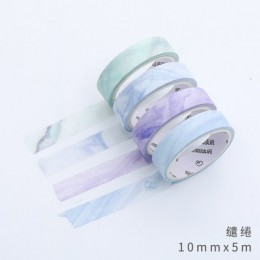 4 sztuk podstawowe taśma Washi śliczne taśma maskująca Kawaii samoprzylepne taśma diy do scrapbookingu Bullet Journal papiernicz
