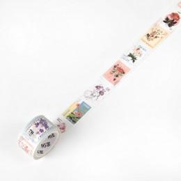 Mr Paper 8 wzory Retro Post Office roślina Bullet Journaling Stamp taśmy Scrapbooking naklejka ozdobna taśmy maskujące łatwe do