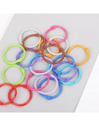 10 sztuk metalowy luźny liść pierścień do spinania książki obręcze DIY albumy szkolne materiały biurowe Craft