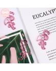 Pan papier Kawaii Cartoon mały książę Rose Fox Sakura jednorożec metalowa zakładka spinacz do papieru kartka z wiadomością notat