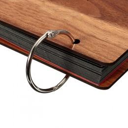 20 sztuk/partia DIY 25mm wewnętrzna metalowa luźny liść książka Binder klamra brelok do kluczy z obręczą notatnik Sketchbook rze