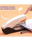 M & G 50 arkuszy bez wysiłku Heavy Duty zszywacz papierowa książka wiążące zszywanie standardowe szkolne materiały biurowe papie