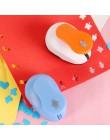Mini kwiat dziurkacz dziurkacz pierścień papier do albumów dziurkacz dzieci dziurkacz ręczny Cut Card dziurkacz er dla DIY preze