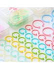 Kreatywny plastik 30mm/24mm/15mm wielofunkcyjny koło pierścień DIY albumy luźne liści książka Binder biuro wiążące dostaw