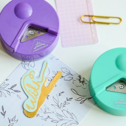 Wysokiej jakości R4 do zaokrąglania rogów 4mm dziurkacz do papieru narzędzie do cięcia zdjęć Craft Scrapbooking DIY