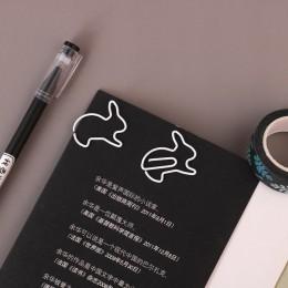 TUTU kreatywny 20 sztuk królik zakładki karteczki do planowania klip materiał metaliczny Segnalibri dla książki papiernicze szko