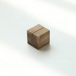 Bez drukowania/grawerowane z litego drewna śliczne klips na karteczki do notowania papieru zdjęć zacisk mocujący drewniane małe