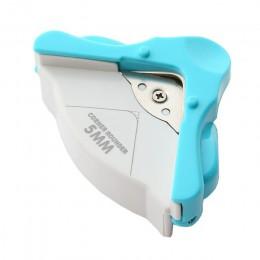R4 DIY do zaokrąglania rogów 4mm papier kartonowy dziurkacz koło wzór narzędzie do cięcia zdjęć notatnik notatnik biurowy Punche