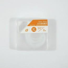 15-30mm plastikowy album pierścień luźne liście Notebook karty pierścienie dla biura DIY podręcznik otwarty fartuch wiążące koło