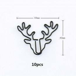 """TUTU 20/10 sztuk Vintage Deer metalowe spinacze do papieru zakładek """" hotele """"oraz """" wynajem samochodów"""" na górze Pin Karea arty"""