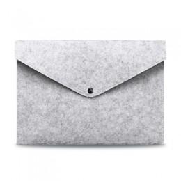 Proste solidna wełna czuł A4 folder duża pojemność aktówka proste walizka biznesowa papieru do przechowywania Ipad torba prezent