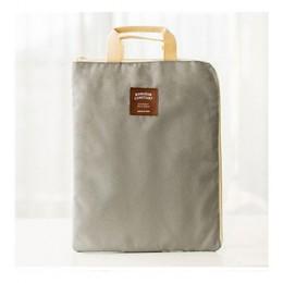 Duże płótno A4 folder aktówka walizka biznesowa papieru torba do przechowywania papiernicze szkolne materiały biurowe