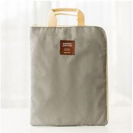 Coloffice 1PC A4 produkty na dokumenty Zipper tkanina oxford torba na papier studencki torba na laptopa teczka na dokumenty kies