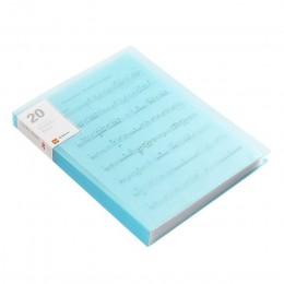 A4 Folder książce informacji, spinacz do papieru Folder uczeń foldery torba wielowarstwowy przezroczysty Folder na dokumenty A4