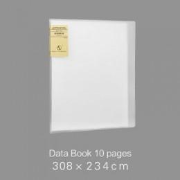 A4 prosta torba na dokumenty 100 stron książka danych o dużej pojemności folder portfolio materiały biurowe