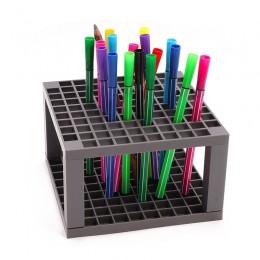 96/49 otwory ołówek i uchwyt na szczotki artysta odpinany 96 otwór pojemnik na ołówki do długopisów pędzle malarskie kredki mark