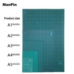 A2 A3 A4 A5 mata do cięcia z pcv podkładka do cięcia Patchwork Cut Pad Patchwork narzędzia instrukcja DIY deska do krojenia dwus