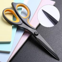 Nożyczki DELI E6027 powleczone teflonem Soft-touch 175mm 6-4/5 cala home office nożyczki ręczne nożyczki do papieru papiernicze