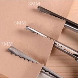 3 5 7mm tkanina krawiectwo pofalowaną krawędzią nożyce ozdobne nożyczki Clipper RTY