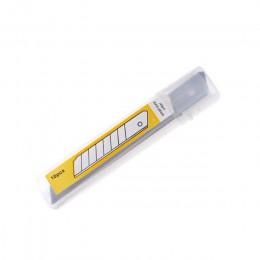 10 sztuk Box Cutter nożyk do listów Snap off wymiana ostrza 9/18mm nóż introligatorski ostrza