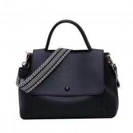 Skrzynki torby damskie torebki o dużej pojemności kobiety PU torba na ramię kobiece Retro codzienne skrzynki Lady eleganckie tor
