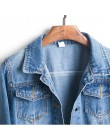 Plus rozmiar poszarpane dziury przycięte kurtka dżinsowa 4Xl 5Xl jasnoniebieski Bomber krótka drelichowa kurtki Jaqueta dżinsy z