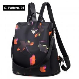 Nowy plecak kobiety Oxford Multifuction Bagpack dorywczo z zabezpieczeniem przeciw kradzieży plecak dla nastolatek tornister 201