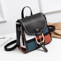 ACELURE designerskie plecaki damskie PU skórzane plecaki damskie szkolne torby dla nastolatków dziewczęce Laides torba podróżna