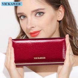 Marka portfeli damskich Design wysokiej jakości portfel skórzany damski Hasp Fashion Dollar Price Alligator długie portfele i po
