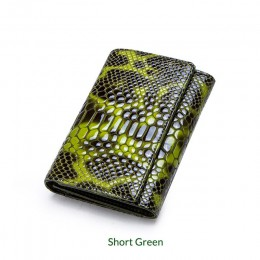 Luksusowe marki kobiet portfele kopertówki prawdziwej skóry wzór wężowy drukuj duży portmonetka kobiet uchwyt na telefon komórko