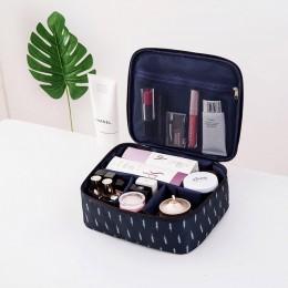 Marka organizator kosmetyki dla modnych kobiet i do podróży kosmetyczka kosmetyczki o dużej pojemności kobiety kosmetyczka H127