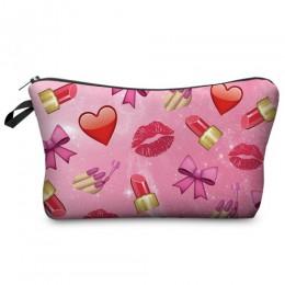 Jom Tokoy Fashion Brand organizer na kosmetyki torba druk termotransferowy kobiety podróżna kosmetyczka przenośna kosmetyczka ko