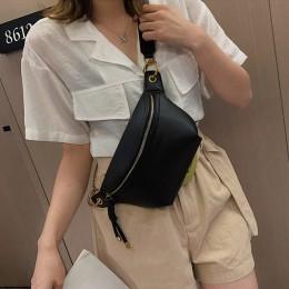 Elegancka skórzana torebka crossbody jednokomorowa damska młodzieżowa dziewczęca modna oryginalna pakowna