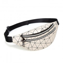 Moda damska talia torba PU skóra wodoodporna Hip Hop piterek moda na zewnątrz torebka saszetka na pasek