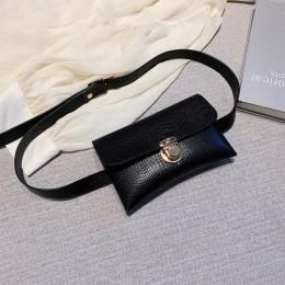 Archiwalne skórzane damskie saszetki na pas kobiece torebki z paskiem torby na telefon komórkowy Crossbody Bag Waist pack