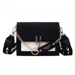 Kontrast kolor dla kobiet 2020 mała na ramię torba kobiet mały kwadrat luksusowe panie torebki i portmonetki Bolsa Feminina